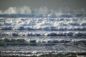 large waves