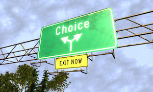 Choice-sign