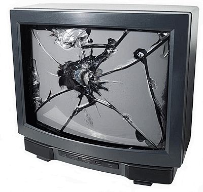 Destroy your TV