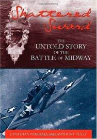 Shattered sword untold story battle midway anthony p tully hardcover cover art